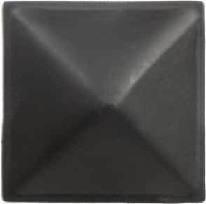 Διακοσμητικό καρφί πυραμίδα μαύρο 28mm
