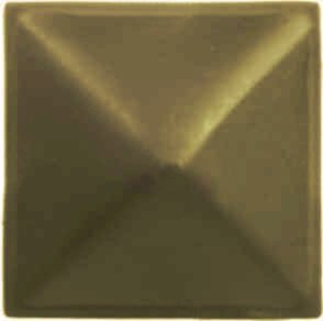 Διακοσμητικό καρφί πυραμίδα αντικέ 28mm