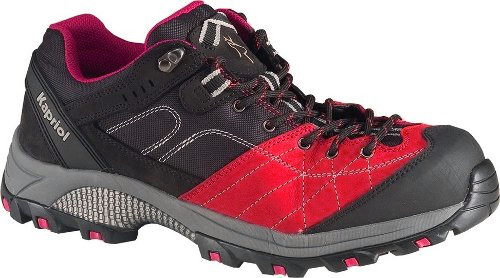 401febd8eff DAKOTA LOW RED, KAPRIOL · Δερμάτινα παπούτσια ασφαλείας αδιάβροχα με ένθετα  από Cordura με προστατευτικό εμπρός και κάτω κατηγορίας S3 μαύρο