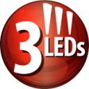 3 leds
