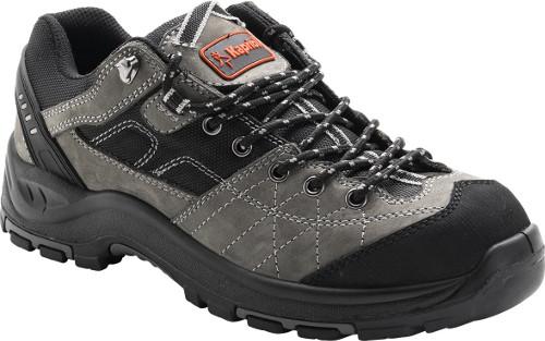 1197a268764 DAKOTA LOW GREY, KAPRIOL · Δερμάτινα παπούτσια ασφαλείας αδιάβροχα με  ένθετα από Cordura με προστατευτικό εμπρός και κάτω κατηγορίας S3 μαύρο